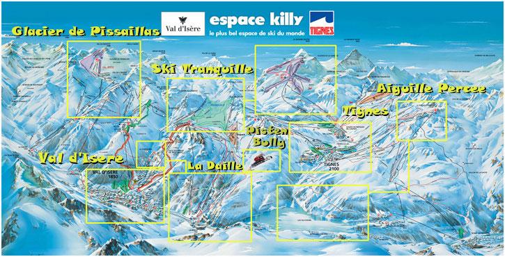 Ski week in Val dIsere France 2012